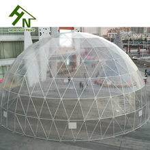 Clear Span Arch Roof Dome 25m Dome Marquee Tents In UAE