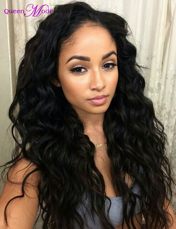Wholesale Indian Human Hair Front Lace Wig Unprocessed Remy Virgin Human Hair Wig