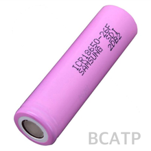 High quality and original 18650 Lion 2600mah Samsung ICR18650-26F battery