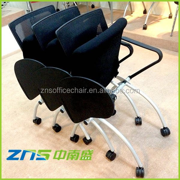 ZNS 806Y-02 2.0mm thickness padded metal folding chairs