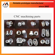 small cnc aluminum machining 7075 small metal pieces