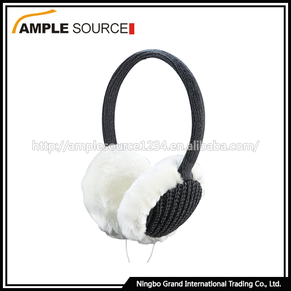 New design heated earmuff , winter warm heated earmuff earphone