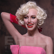 Life Size Silicone Famous Celebrity marilyn Monroe Wax Figure Full Body Silicone Sex Doll