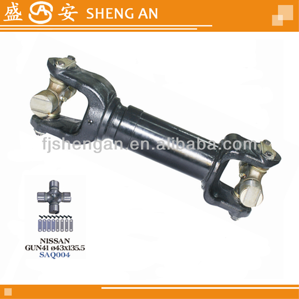 Precision casting propeller shaft assembly with Universal joint GUN41 43*135.5 OEM37041-90062