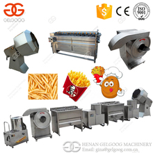 Trade Assurance Machine To Make Potato Chips Potato French Fries Making Machine