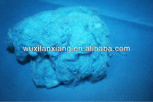 Virgin dyed polyester staple fiber