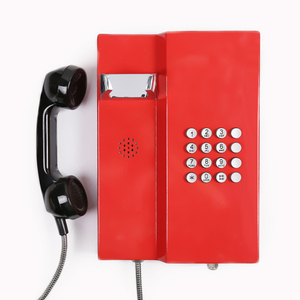 VOIP Stainless Steel Telephone Weatherproof / Emergency Phone Profession