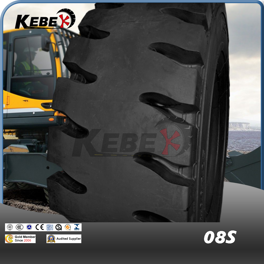 KEBEK Port Use Tire 18.00R25 08S/07S(E4) For Straddle Carrier Caontainer Fork Lift