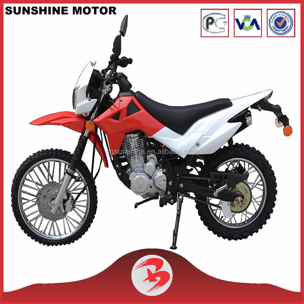 SX200GY-6 Hot Sale 200CC Dirt Bike For Sale Cheap Hot Selling Red Color