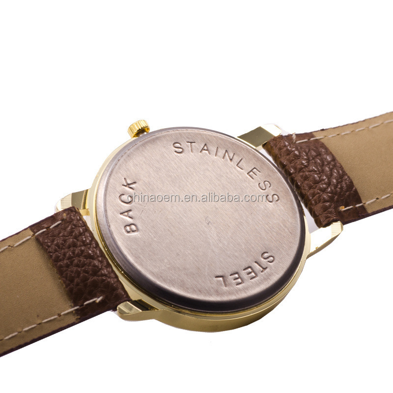 Fashion Watch Men Watch Top Brand Leather Strap Fashion Quartz 2015 Hot Sale 4 Colors Men Watches