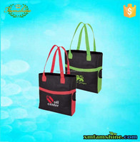 customized high quality 600d nylon shopping tote bag