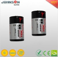 a small price for quality and quantity assured dry battery of c 1.5v r14 zinc-carbon battery