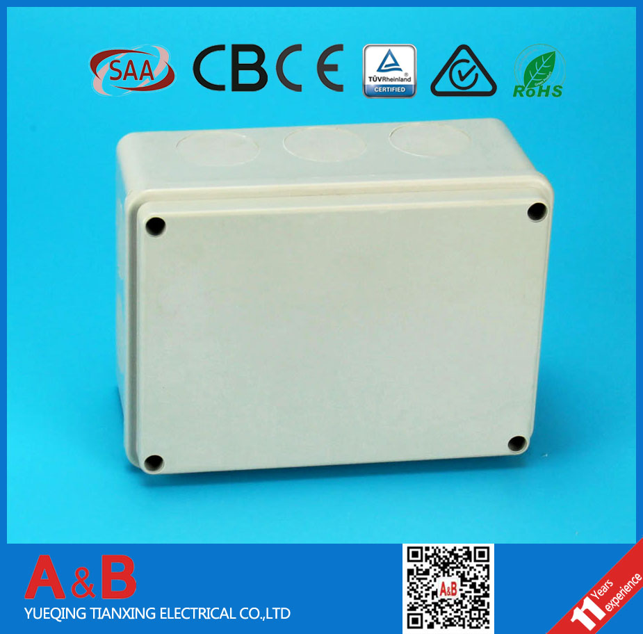 yueqing*pvc junction box *junction box electrical connector IP 65 box%