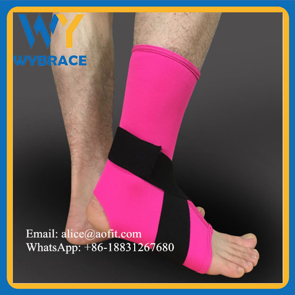 Wybrace Best Ankle Support for Running, Basketball, Everyday Wear Lightweight Ankle Brace