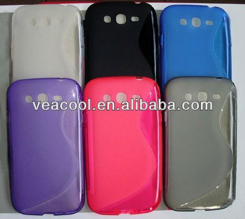 S Line Soft TPU Gel Silicon Case for Samsung Galaxy Grand i9080 i9082
