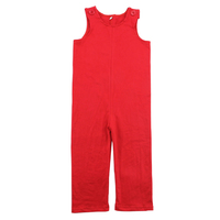 2015 latest design 0-5t baby100% cotton American market baby onesie romper wholesale baby red Longalls
