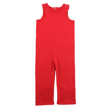 2017 latest design 0-5t baby100% cotton American market baby onesie romper wholesale baby red Longalls
