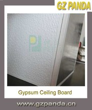 PVC Cover and Foil Back Gypsum Ceiling Tiles 7.5mm 8mm