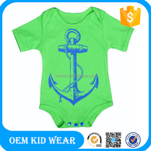 Factory Price 100% Cotton Custom Printed Baby Clothes Made In China