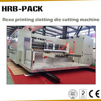 Semi Auto Carton Box Printer Slotter Machine/Corrugated Paperboard Printing and Die Cutting Machine
