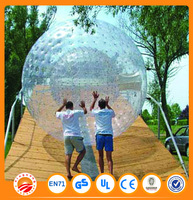 Water and land used inflatable Human football zorb ball,zorb ball