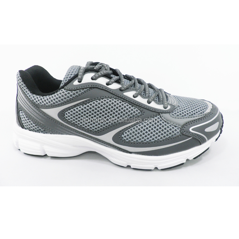 2017 Grey/Black Breathable Fashion Sports Shoes Running Sneakers