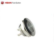 2018 Hot Wholesale HBAN 12mm mini spst short body push button switch,2pins on/off switch,electrical power switch