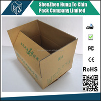 High quality 5 layer packaging thick cardboard box