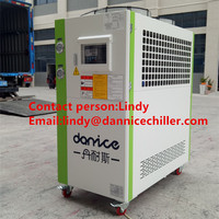 Fast delivery air cooled eco friendly industrial water chiller for beverage industry