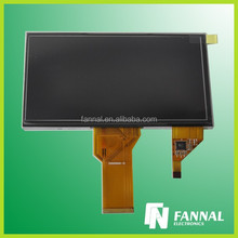 industrial/automotive/medical/smart home 7 inch capacitive mini laptop touch screen with tft