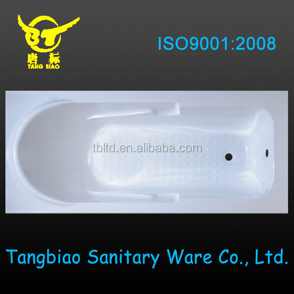 Factory made directly small cheap plastic portable acrylic fiberglass bathtub canada tub