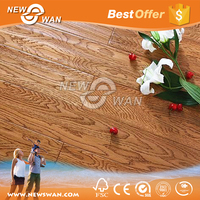 Wood Texture Laminate Flooring for Commercial Applications