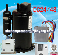 48v electric a/c compressor FOR cooling outdoor 12000btu split hybrid solar air conditioner solar ac Air Conditioners