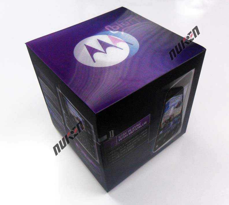 very cool 3d effect printing packaging box from World Class 3D Lenticular Printing Manufacturer