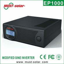 < Must Solar> PG series high frequency modified sine wave home inverter/inversor 1kva/600w 2kva/1200w
