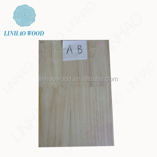 bleached paulownia finger jointed board manufacturer
