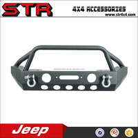 High quality front bumpers 4x4 steel bull bars for jeep wrangler jk