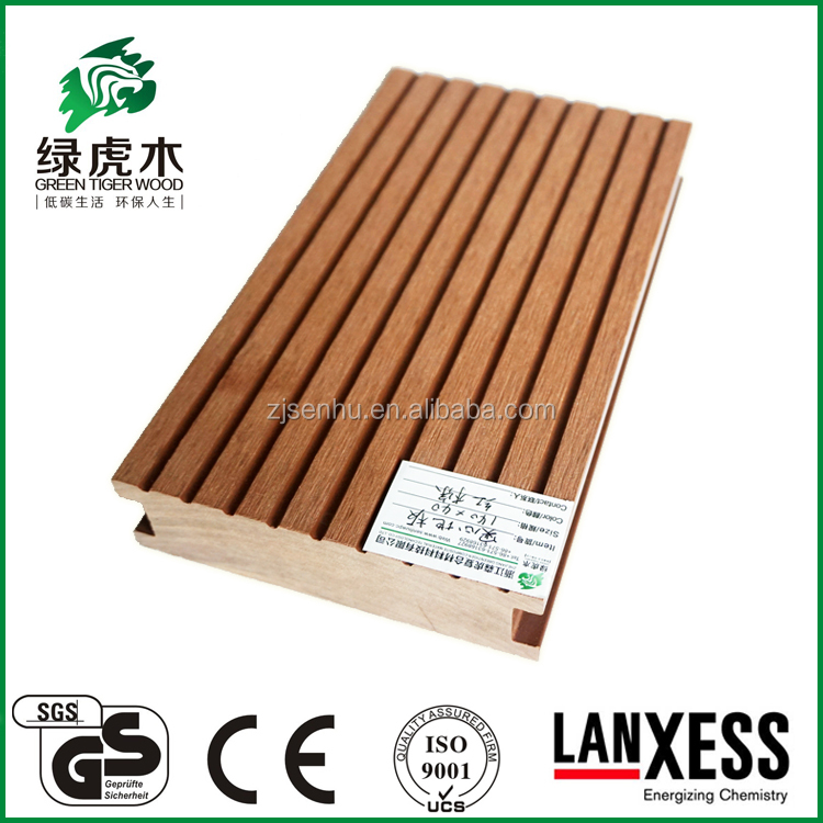 wpc outdoor decking fadeless tile wall board auti-UV