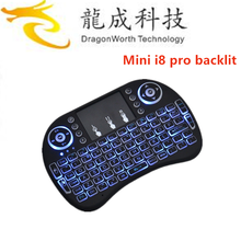 Mini i8 air mouse backlit satellite receiver universal remote control ott user manual 2.4ghz wireless keyboard