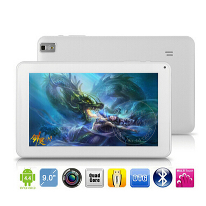 White For Android Quad Core GPS WIFI Kids Children Tablet PC