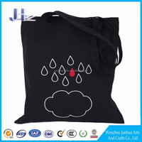 Handled Style 100% Cotton Material Customized Printed Cotton Canvas Tote Bag