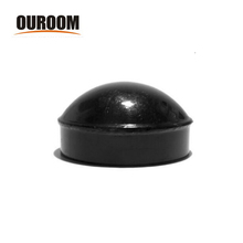 Ouroom/OEM Wholesale XYPC002 Aluminum Round Fence Pvc Post Caps
