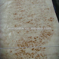MAPPA BURL WOOD VENEER---0.5mm thickness veneer