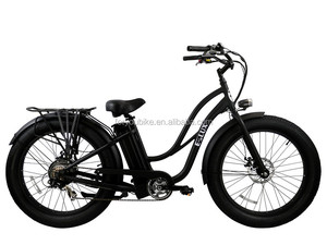 cheap 26 inch fat tire beach cruiser electric bikes fat tyre lithium battery bicycle CE certification E bike pedelec bike