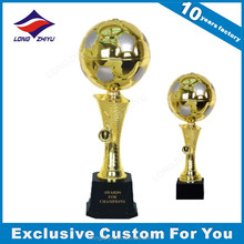 Awards plastic trophy cup football trophies for sale
