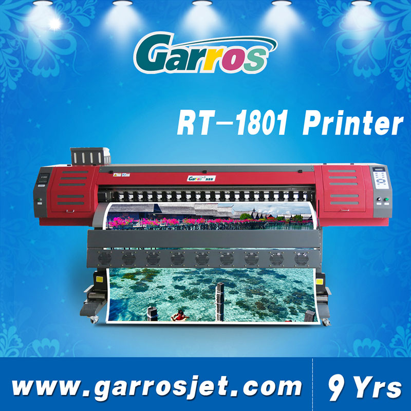 Garros wide format thunderjet v1802s eco solvent printer with DX5 print head