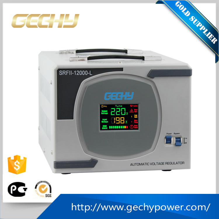 High Performance Digital Display AVR Voltage Stabilizer for Home Appliance 9KVA