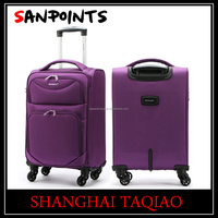 sanpoints 4 piece luggage set super light weight suitcase 19inch 24inch 28inch 32inch