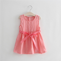 Good Quality Soft 1-6 Years Old 100% Cotton New Model Girl Dress