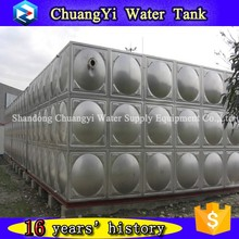 Best selling stainless steel cold water tank, stainless living water storage tank, welded type water tank